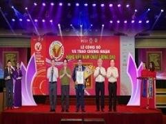 Kim Tín vinh dự tiếp tục được trao danh hiệu Hàng Việt Nam chất lương cao